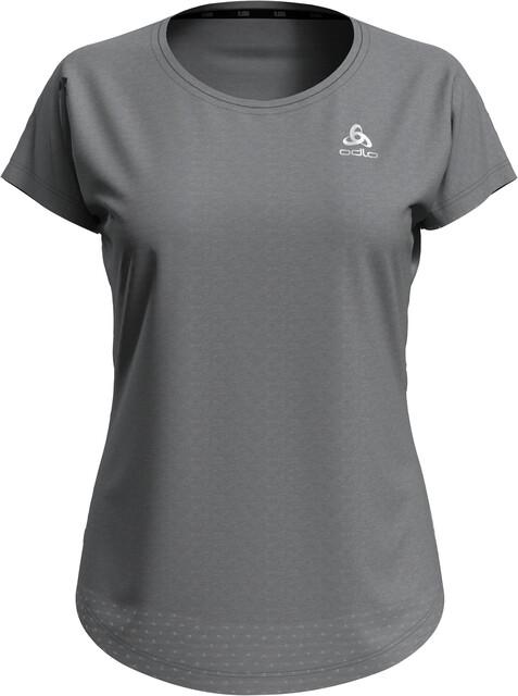 Odlo Millennium Crewneck T shirt Dames, grey melange